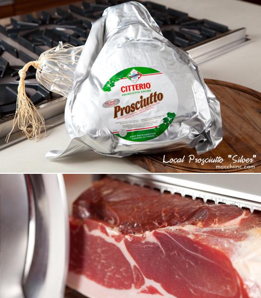 """Macchi Inc.'s Local Prosciutto """"Silver"""" by Citterio"""