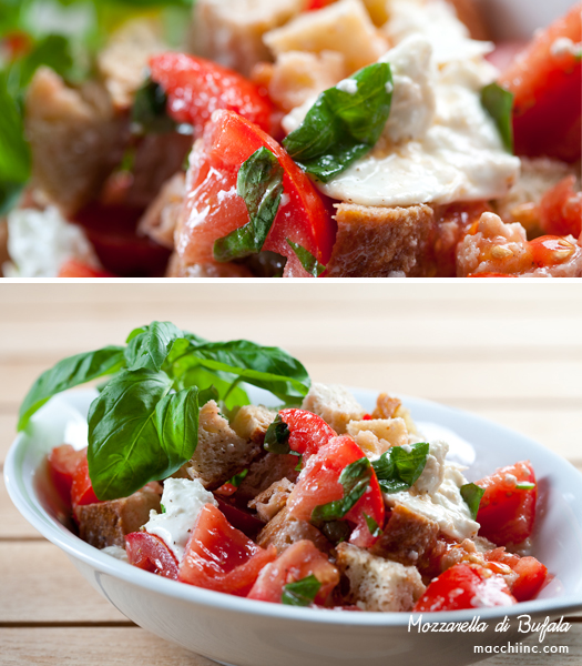 Panzanella Salad - Photo by Montreal Photographer Vadim Daniel