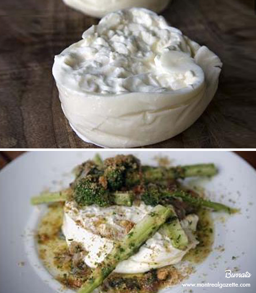 Macchi inc.'s Burrata Prepared by Chef Derek Dammann at Restaurant DNA