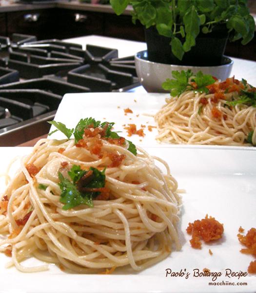 Paolo's Bottarga Pasta Recipe