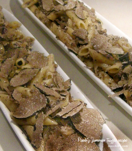 Paolo's Summer Truffle Recipe