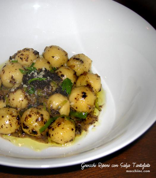 Café con Dante's Truffled Gnocchi recipe
