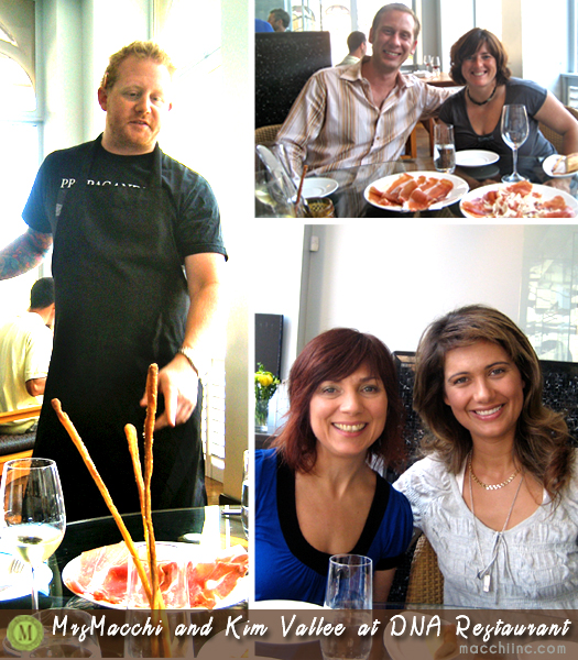 "Left: Derek Dammann, Top right: Paolo Macchi and Nathalie Rivard: Bottom right: Kim Vallee and Hivron ""MrsMacchi"" Turanli"