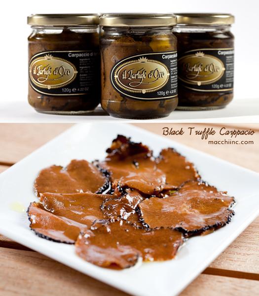 Tout savoir sur le carpaccio de truffe noire